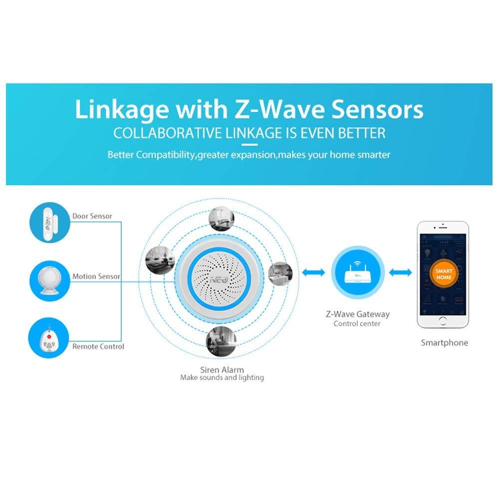 z wave alarm sensor