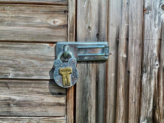 The history of locks and keys