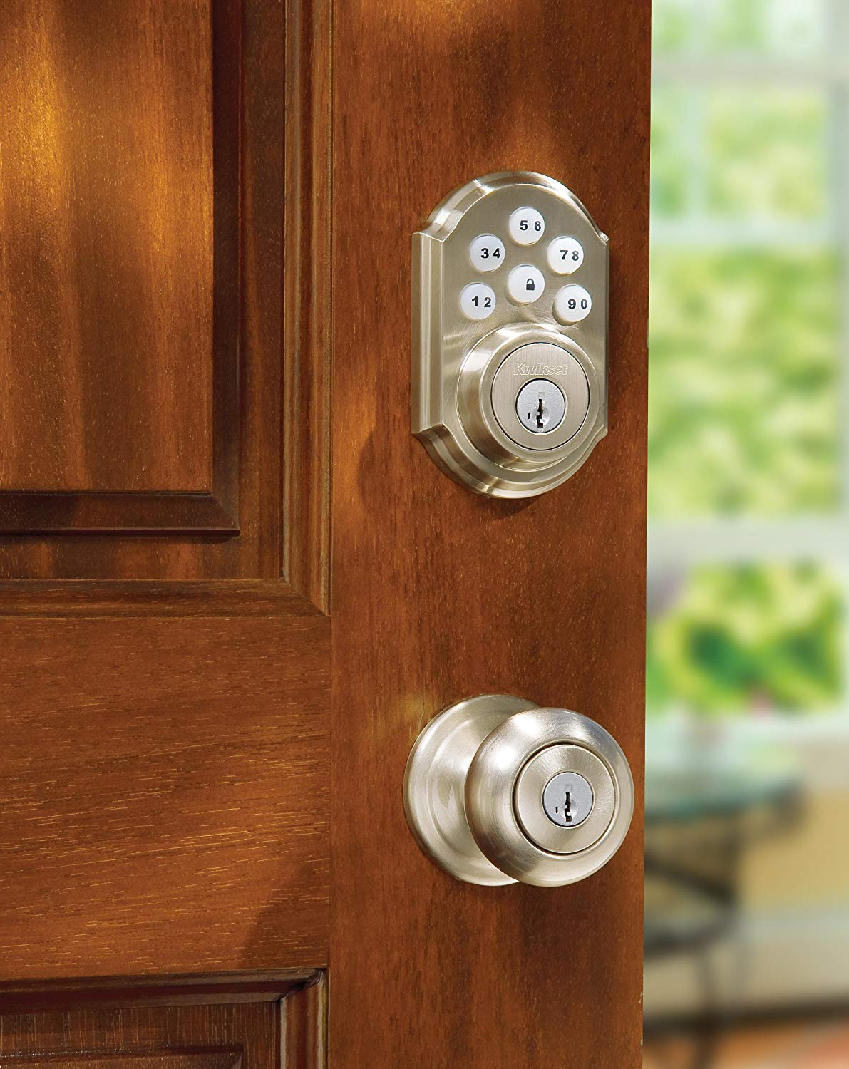 the best smart door lock kwikset 909