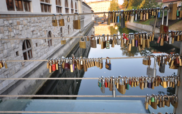 Butchers' Bridge, Slovenia