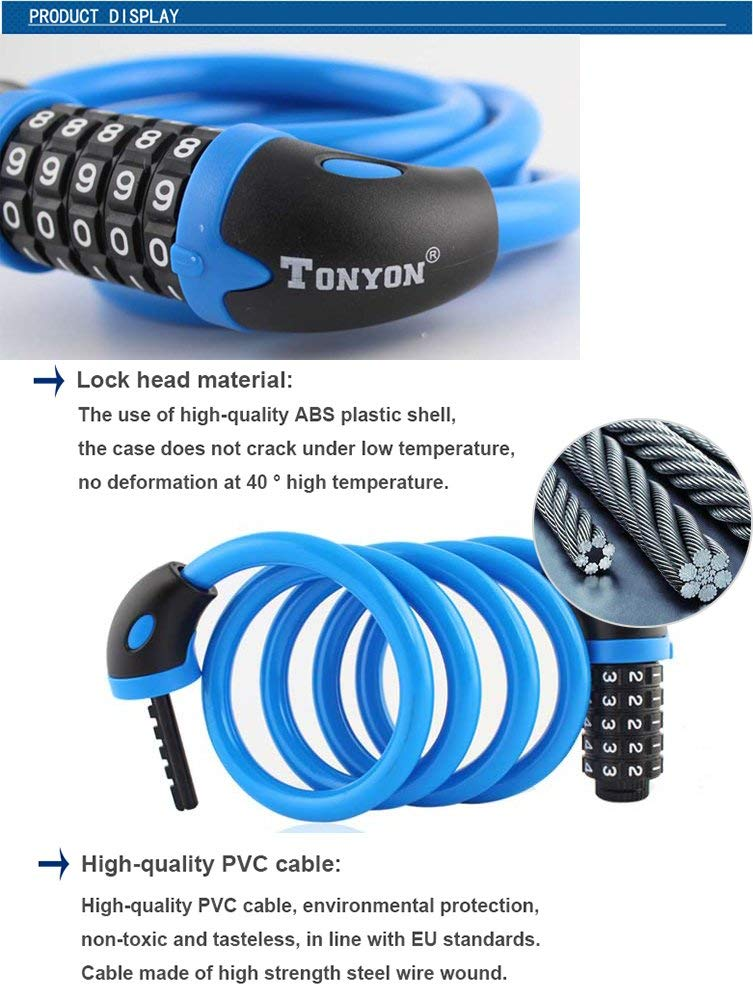 Tonyon bike lock review