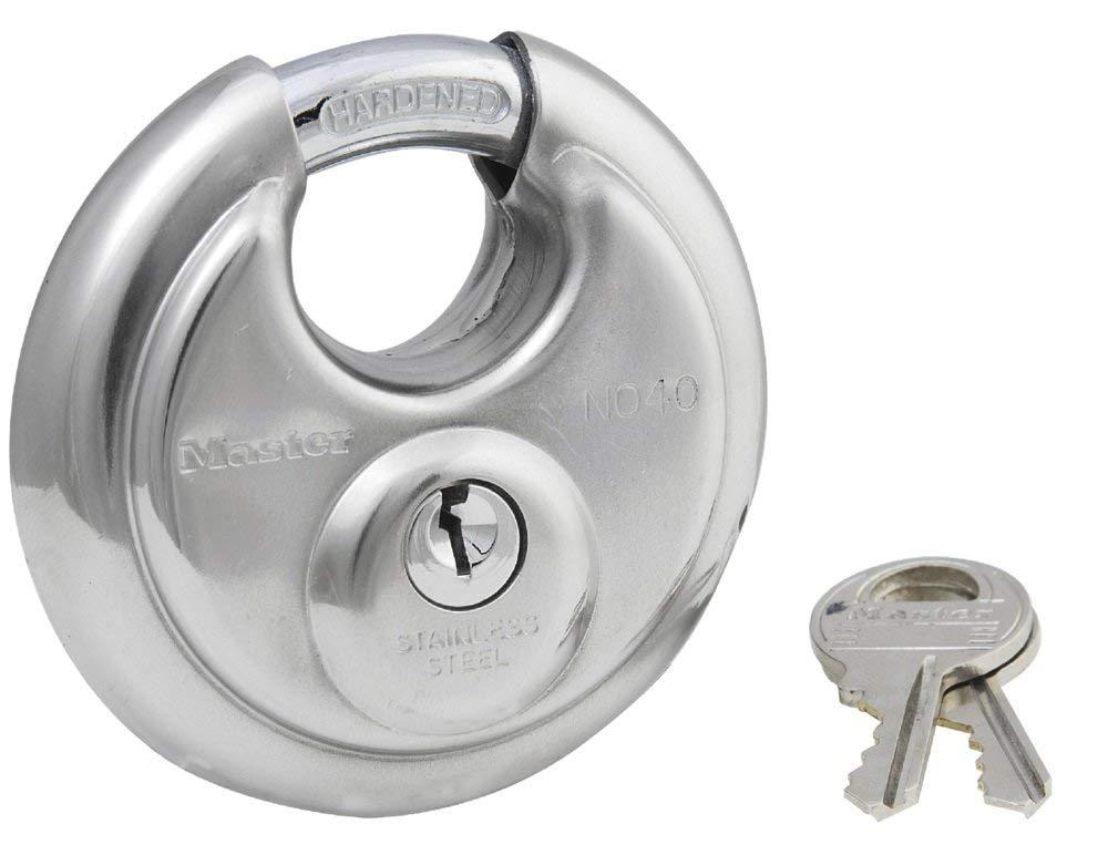 master lock round padlock