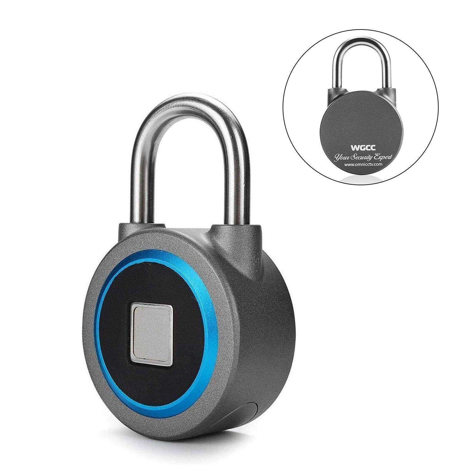 WGCC Fingerprint Padlock Review